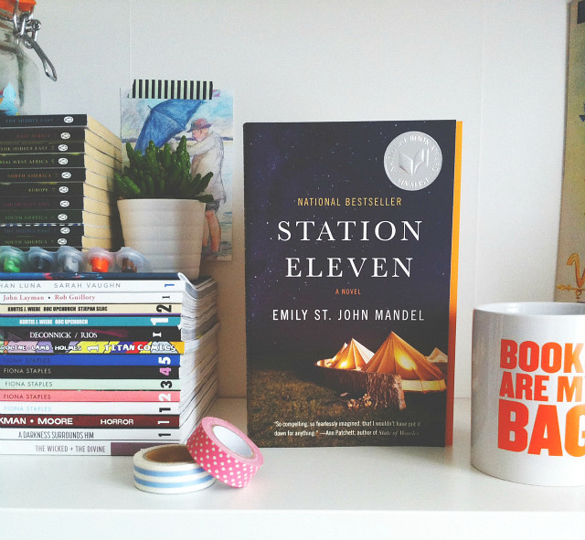 vivatramp station eleven emily st john mandel book haul lifestyle blogs uk