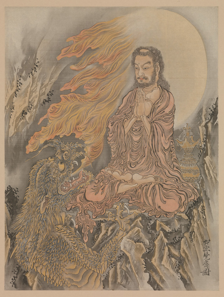 Shakyamuni Conquering the Demons (Shaka Goma-zu)