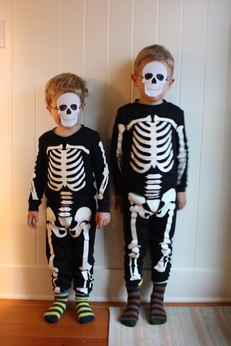 Two Little Skeletons