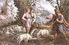 Laban's trickery - Jacob marries Leah... and Rachel (Genesis 29:14 - 29:30) by bibleblender