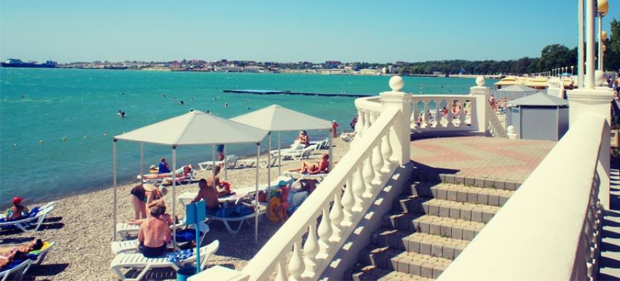 Курорты Краснодарского края по-прежнему популярны в высокий сезон