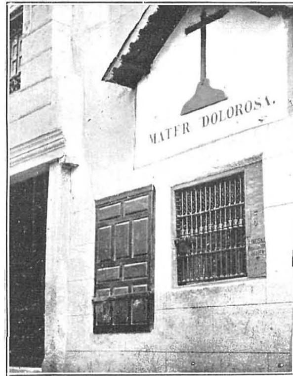 Virgen de Alfileritos en la Revista Nuevo Mundo en un artículo de Santiago Camarasa del 19 de febrero de 1926