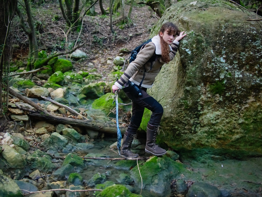 related image - Shooting Lara Croft - Sources de l'Huveaune - 2015-11-11- P1650786