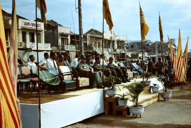 HUẾ - Lễ khánh thành chợ Đông Ba xây dựng lại sau biến cố Tết Mậu Thân