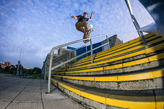 Matthew Grey - FS Boardslide - Pyramids - Portsmouth