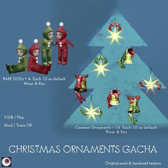 *NAMINOKE*Christmas_ornament Gacha