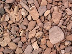 Lakeshore beach gravel (upper Holocene; derived from the Split Rock intrusive felsite, Proterozoic; Iona's Beach, northeastern Minnesota, USA) 10