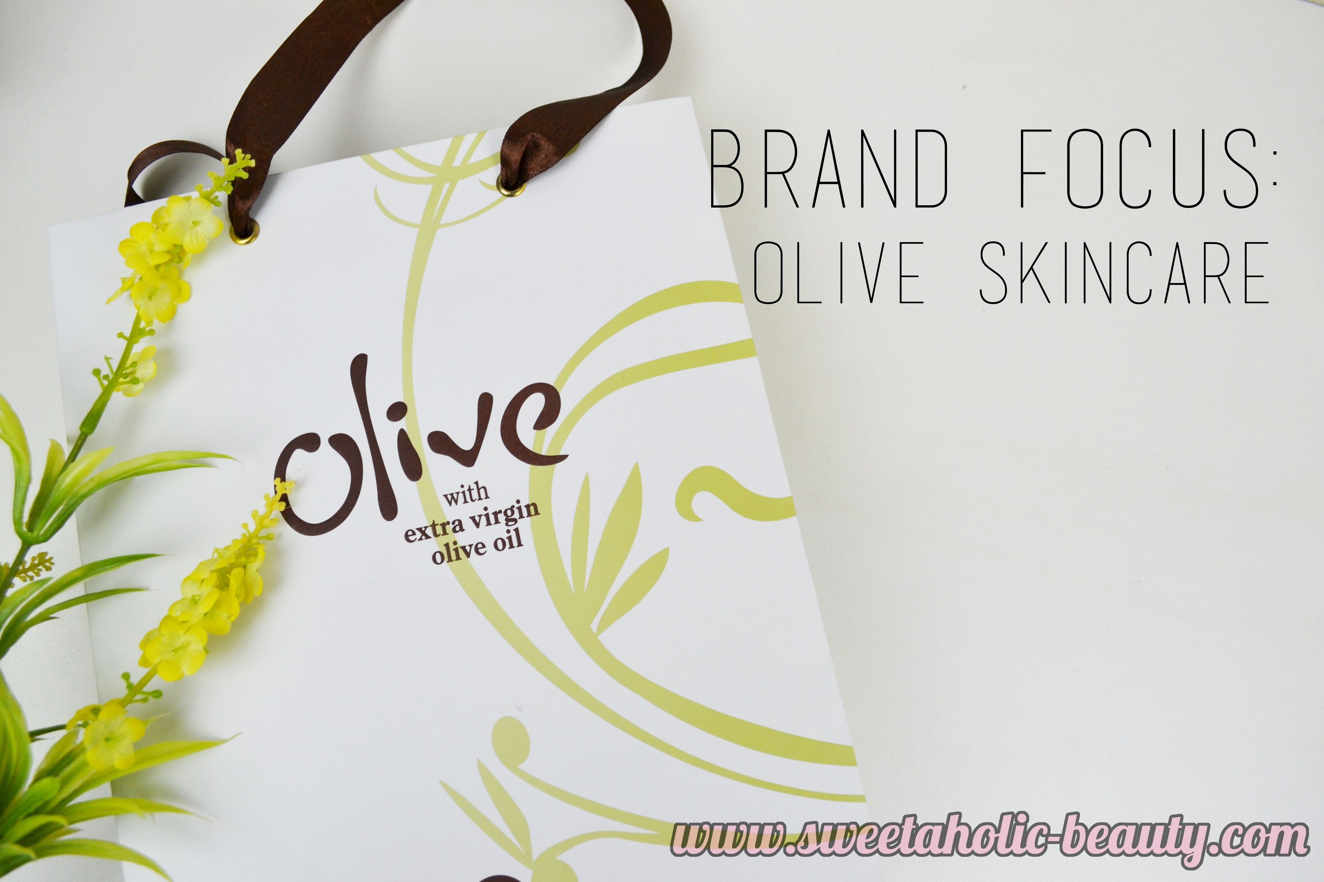 Brand Focus: Olive Skincare - Sweetaholic Beauty