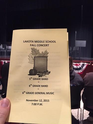 Lakota Middle School Fall Concert