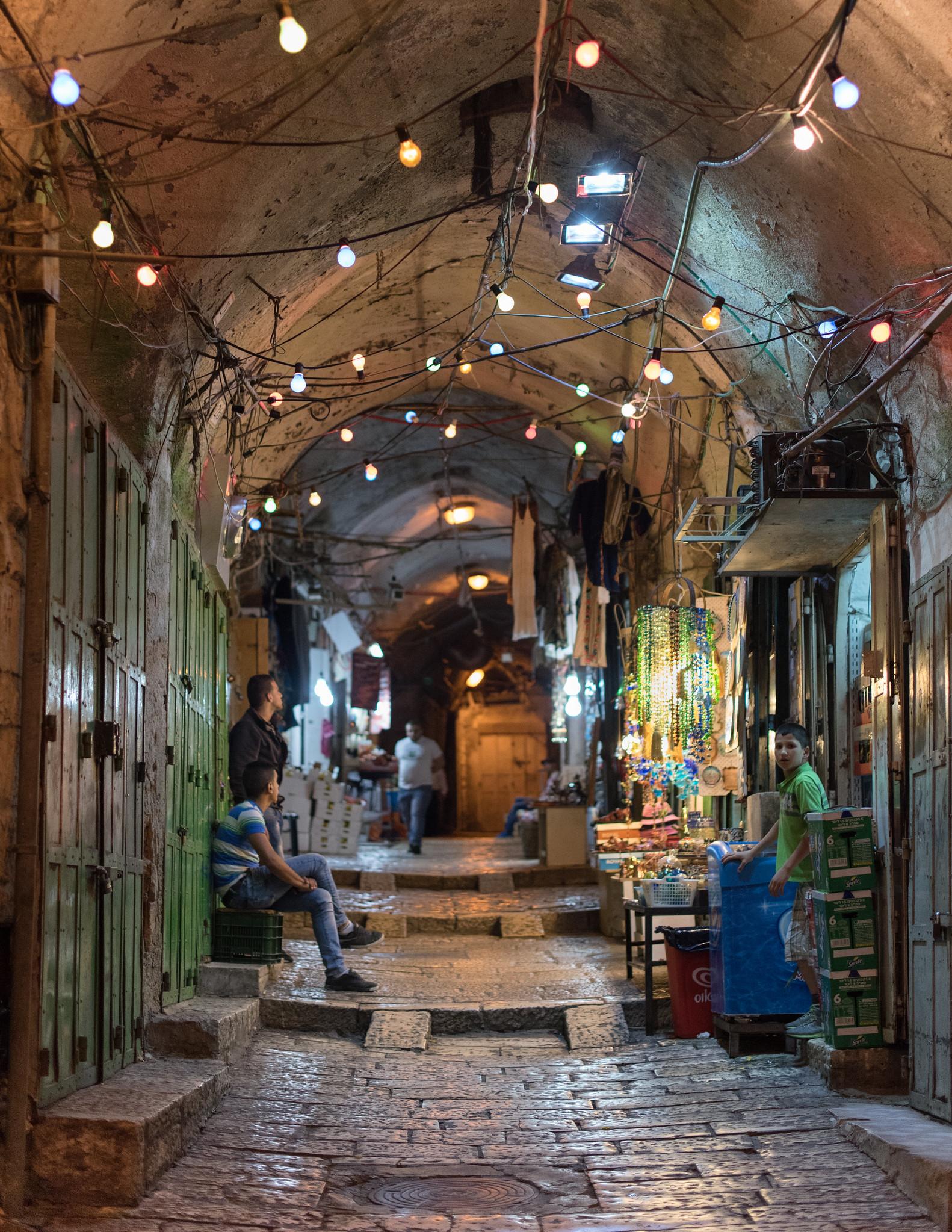 Old City Alley Lights