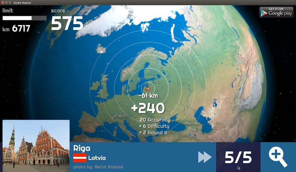 Globe Master 3D - Riga