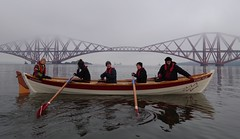 Rowing in freezing fog