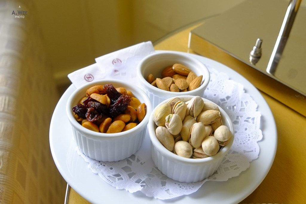 Nuts in ramekin