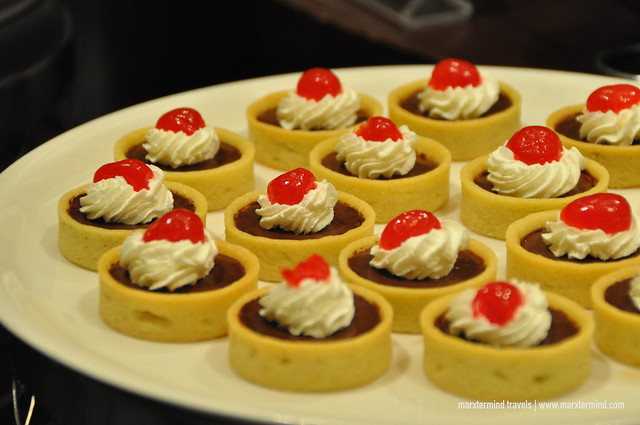 Desserts at Crimson Hotel Manila
