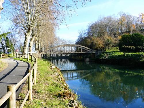 Canal latéral à la Garonne - Castillon-de-Castets - Gironde - Aquitaine - France