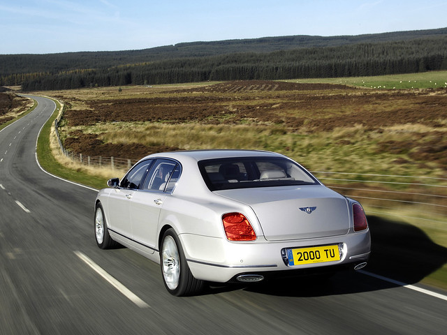 Bentley Continental Flying Spur Speed 2008 года