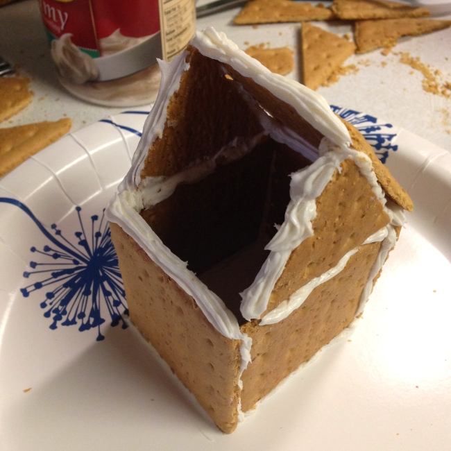 'Gingerbread' house step-by-step, 11