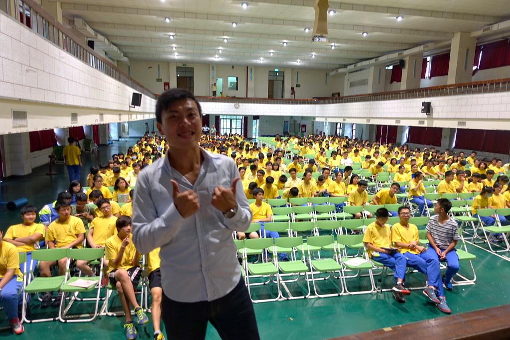 2016.09.30桃園-武陵高中《自助旅行,談健康體位》講師