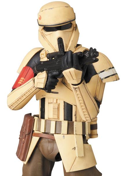 MAFEX【帝國岸防兵】星際大戰外傳:俠盜一號 Shoretrooper