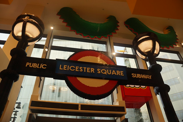 Leicester Square Public Subway, London Underground, LEGO Store, 3 Swiss Court, Leicester Square, City of Westminster, London