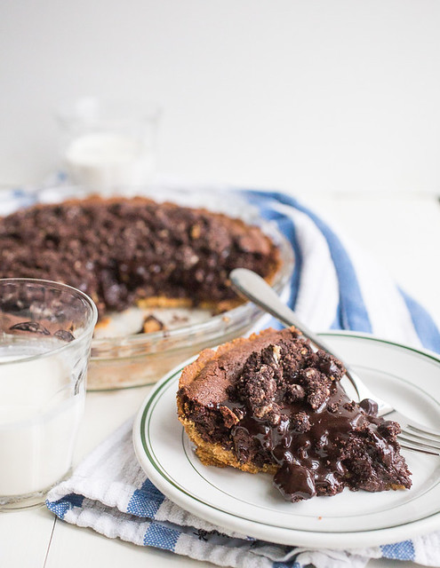 Fudgy Brownie Pie