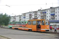 Usolye-Sibirskoye tram 71-605 special 104