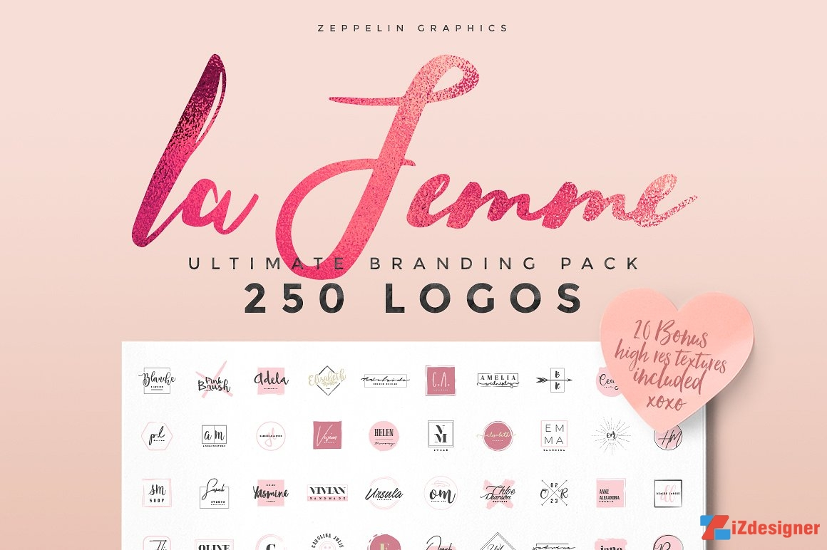 250 Logo Template Miễn Phí Download