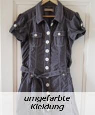 umgefärbte Kleidung