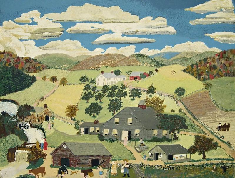 Anna Mary Robertson 'Grandma' Moses - The Old Oaken Bucket