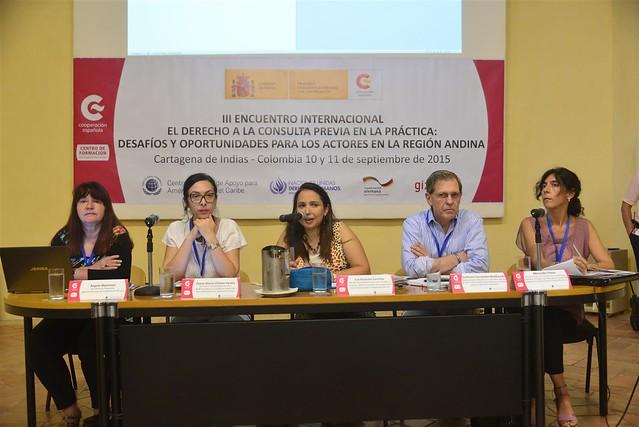 III Encuentro Internacional: El derecho a la consulta previa en la práctica, desafíos y oportunidades para los actores de la región andina