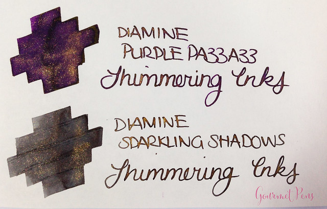 Ink Shot Preview Diamine Shimmer Inks (27)
