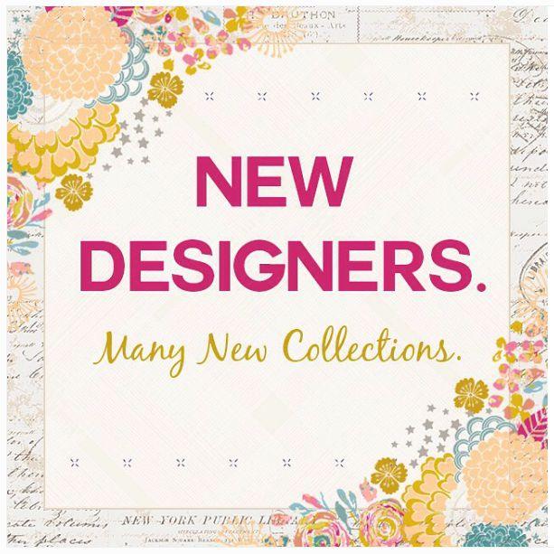 New Designers!