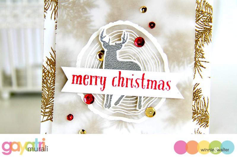 Merry Christmas closeup