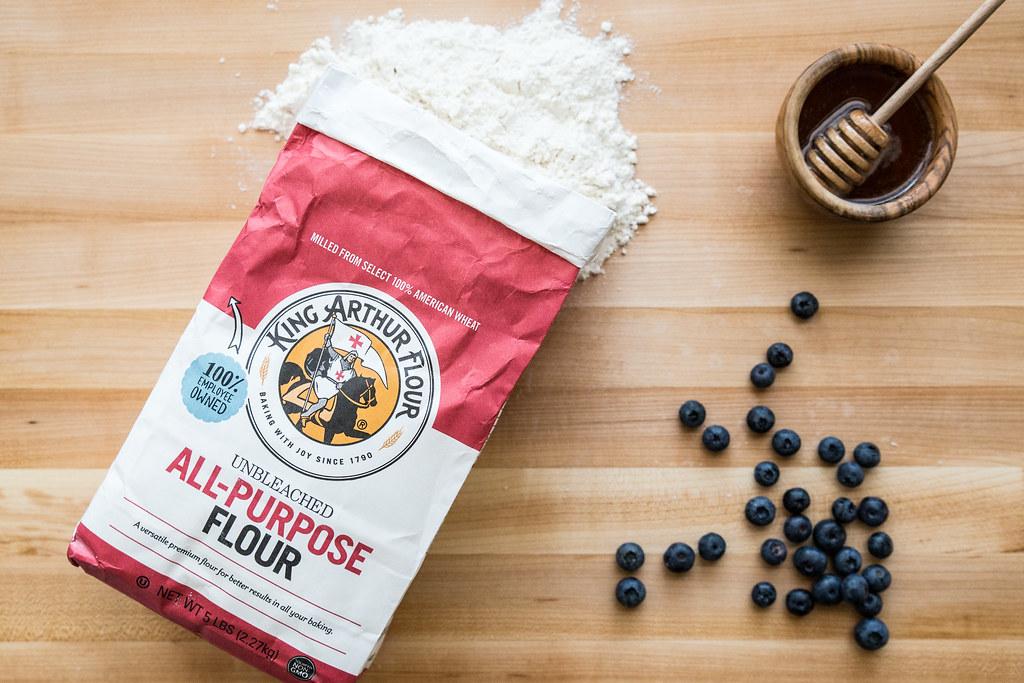 Blueberry Honey Scones