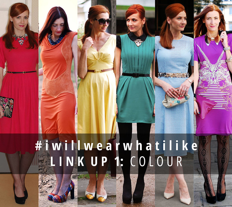 Not Dressed As Lamb's #iwillwearwhatilike link up 1: Colour