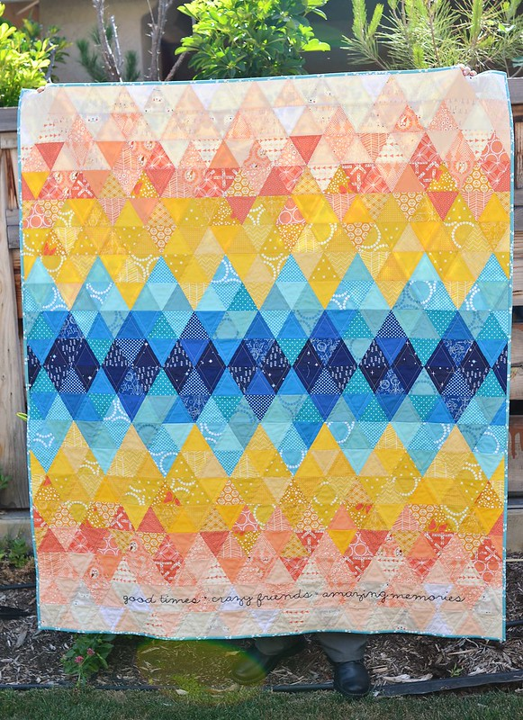sundown II quilt