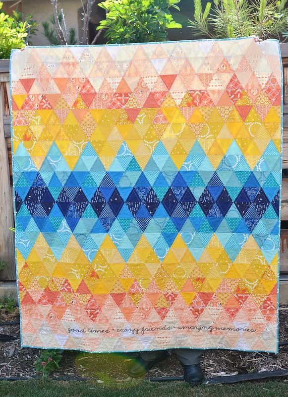 sundown II quilt