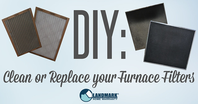 clean or replace filters with a home warranty plan banner
