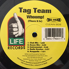 TAG TEAM:WHOOMP!(THERE IT IS)(LABEL SIDE-B)
