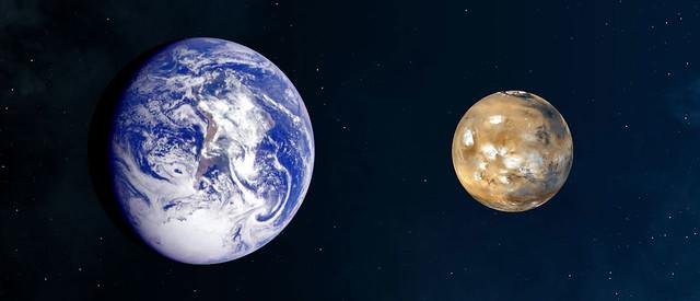Mars/Earth Comparison