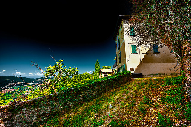 Panoramic view from Cassano