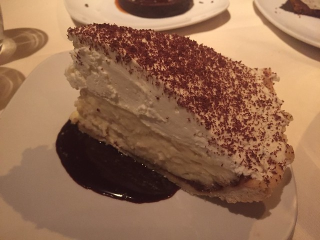 Coconut cream pie - Buckeye Roadhouse