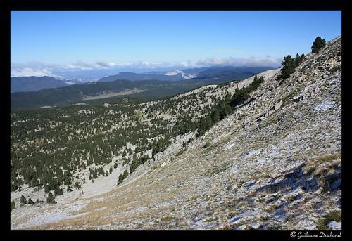 Vue sur les hauts plateaux du Vercors