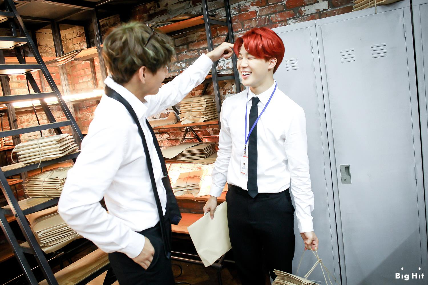 Picture Fb Starcast Bangtan Room Dope Mv Filming