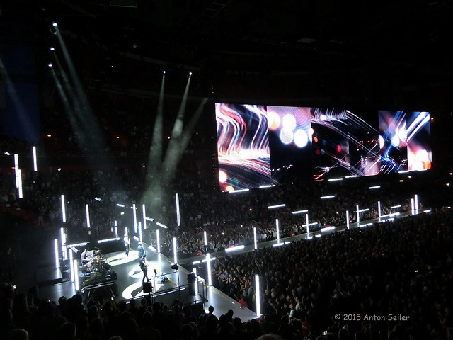 U2 in Stockholm 2015
