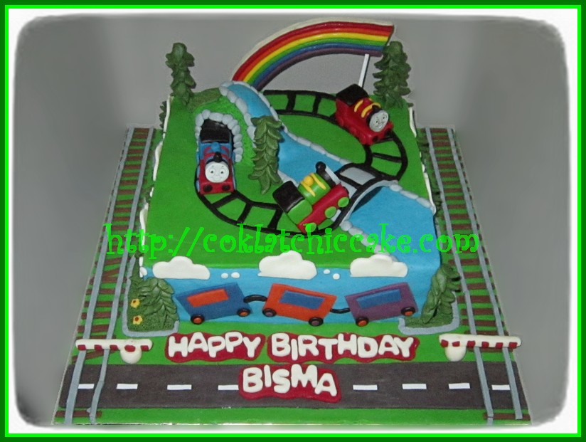 Cake Thomas, percy dan james