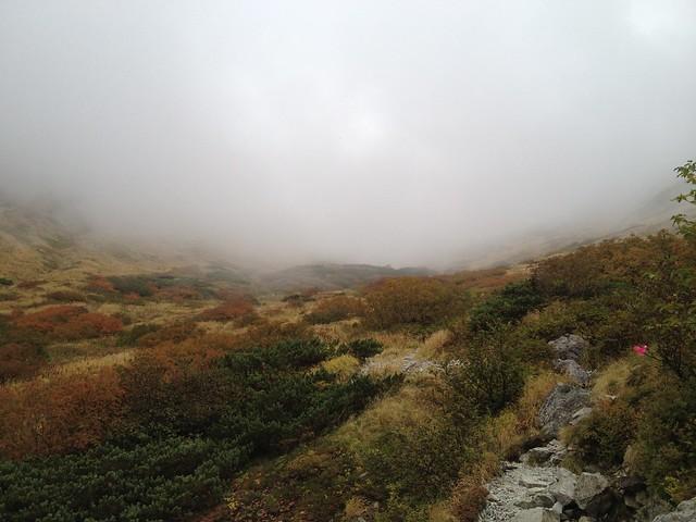 槍ヶ岳 新穂高(右俣谷)~飛騨沢ルート 登山道