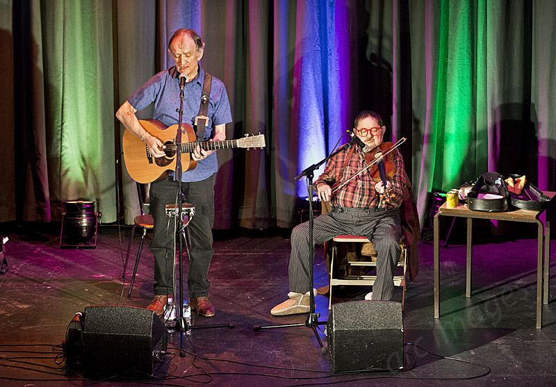 Martin Carthy, Dave Swarbrick at Settle Victoria Hall