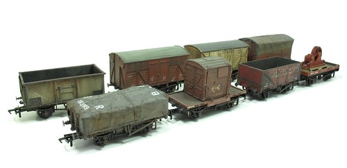 Ruston Quays wagons