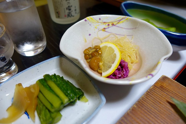 Photo:dinner @『ひなの宿 ちとせ』(新潟県十日町市松之山) By TOMODA